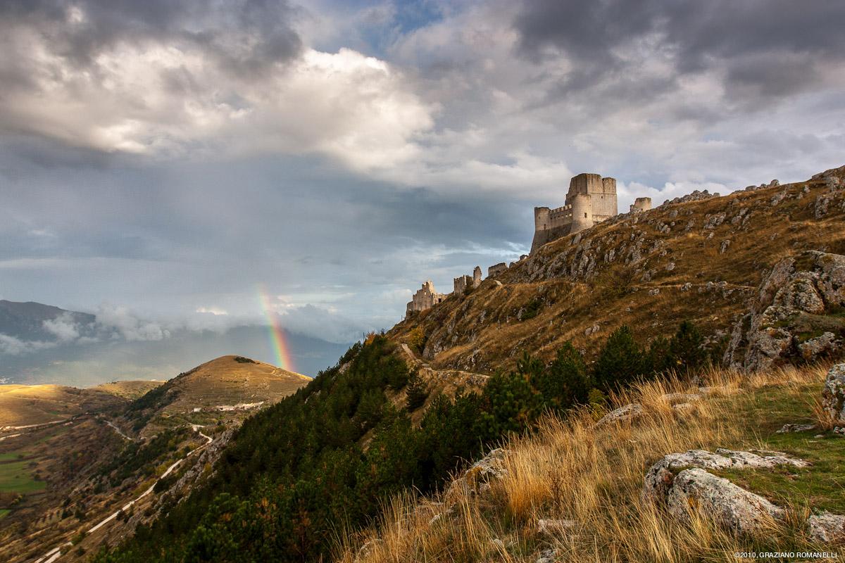 La Rocca con arcobaleno