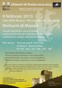 Wolfgang Amadeus Mozart a Rocca Calascio