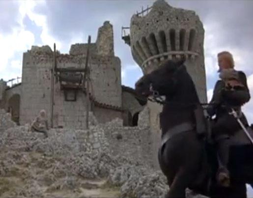Rocca Calascio set del film Ladyhawke
