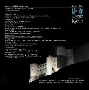 Altimetri di Musica 2013-2014