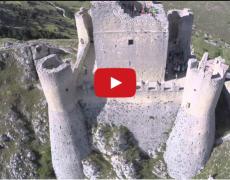 Rocca Calascio vista dal drone.
